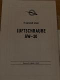 Ersatzteilliste für Luftschraube AW-50
