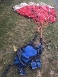 Kompletter Fallschirm